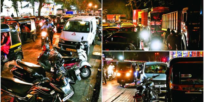 Parking on streets , big hurdle for Mulund residents